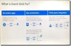 what event grid is for